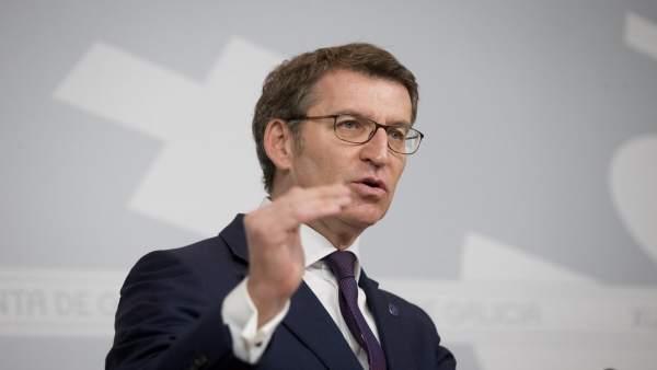 Ou Titular Do Goberno Galego, Alberto Núñez Feijóo, Comparecerá En Rolda De Pren