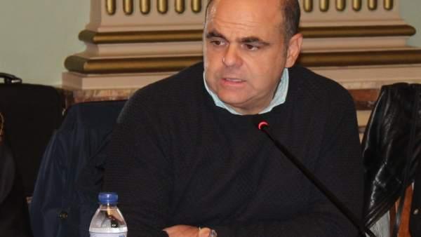 El concejal del PP en Huelva Saúl Fernández