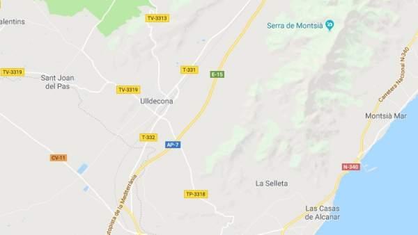 Ulldecona, Tarragona.