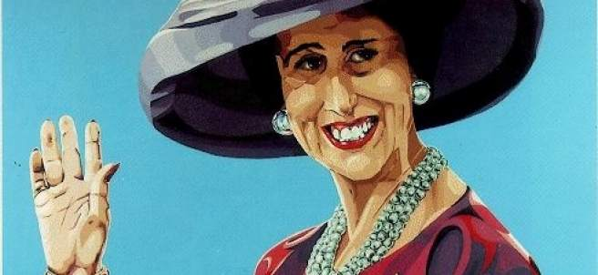 Carmen Polo. Viuda de Franco, 1978. Costus