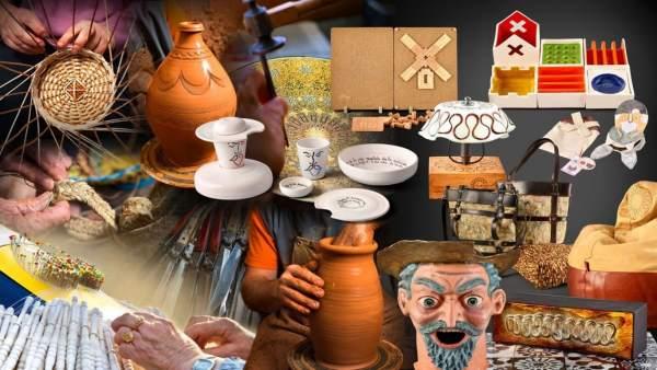 Regalos, productos regionales, artesanía C-LM