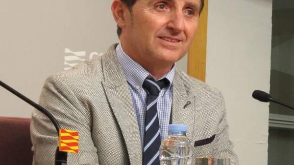 El alcalde de Villanueva de Sijena, Ildefonso Salillas