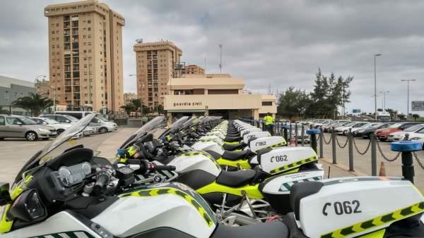 Motocicletas de la Guardia Civil