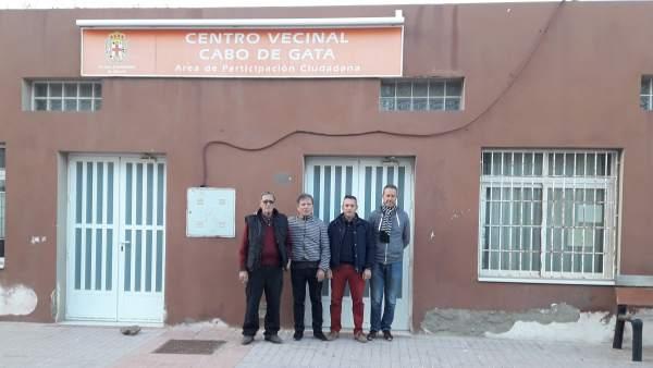 PSOE reclama un programa de arreglos para centros vecinales de Almería