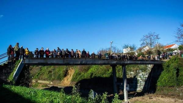 Protesta en Santa Mariña, Ferrol