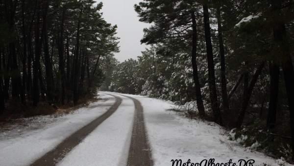 Carretera nevada Albacete