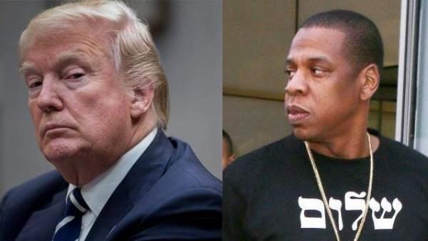 Donald Trump y Jay-Z