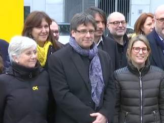 Puigdemont, en Bruselas