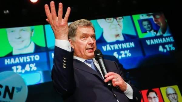 El presidente de Finlandia, Sauli Niinistö