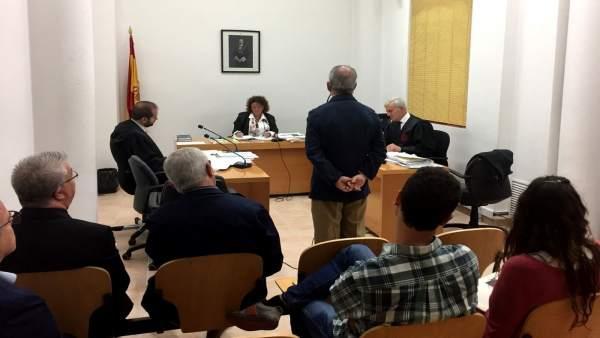 Celebración del juicio por la titularidad del recinto de Sant Salvador
