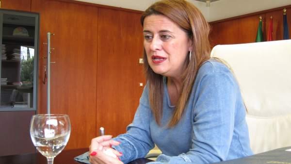 La consejera de Educación de la Junta de Andalucía, Sonia Gaya