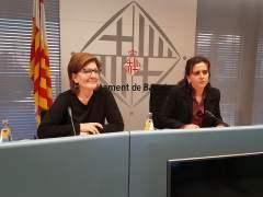 Gemma Tarafa y Montserrat Pasarín.