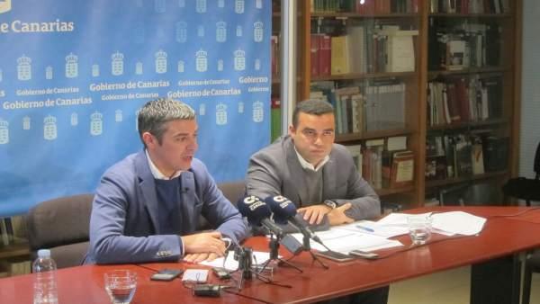 Quintero y Morales, en rueda de prensa