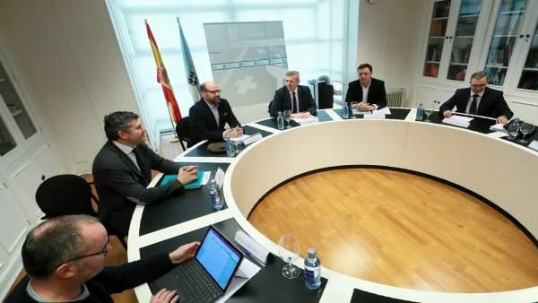 Fotos Xunta. Reunión Vicepresidencia.