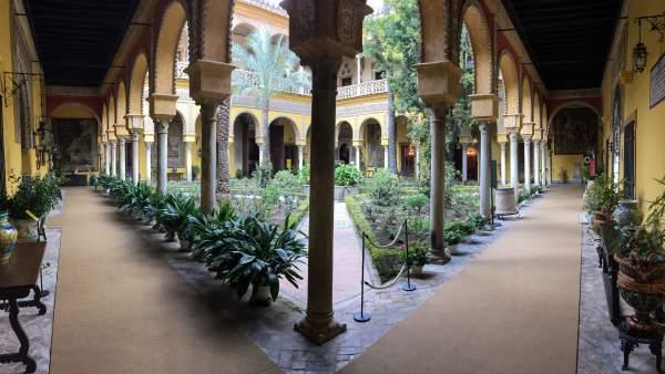 Visita Palacio De Las Dueñas En Sevilla