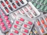 Antibióticos. Fármacos. Blíster. Pastillas.
