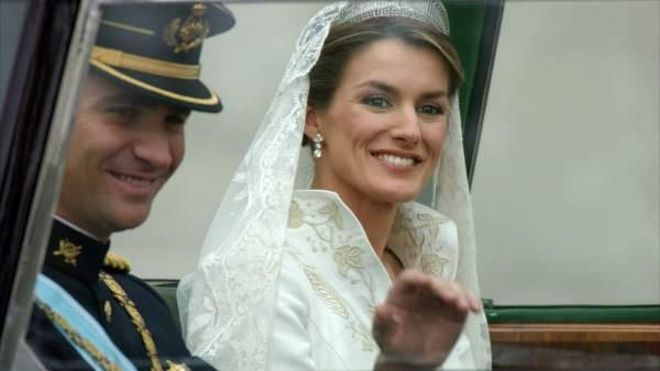 Felipe de Borbón Letizia Ortiz