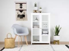 Deja a la vista los objetos de casa con estanterías abiertas