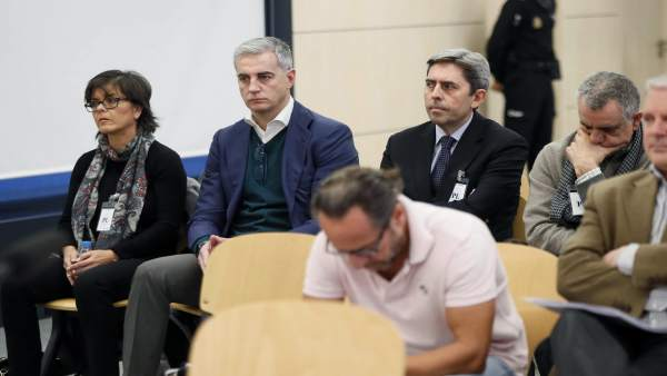 Cristina Ibáñez, Ricardo Costa, Vicente Rambla, Cándido Herrero y Álvaro Pérez