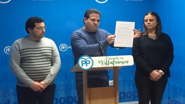 Antonio Gavilán en rueda de prensa
