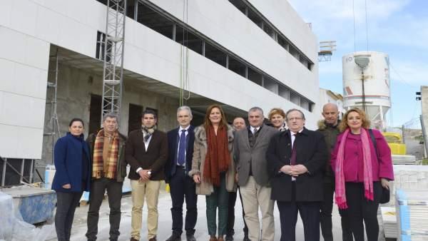 N.Prensa Visita Consejero Empleo Osuna Por La Concesión De 1,5 Millones De Euros