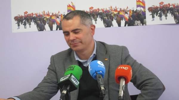 Miguel Saro, concejal IU de Santander