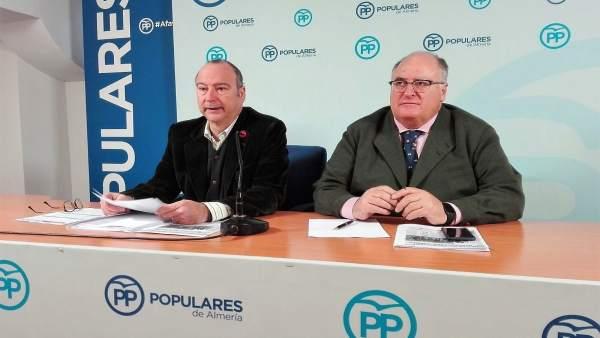 Rodríguez-Comendador y Gonzálvez, en rueda de prensa