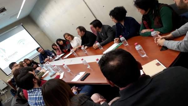 Presentación del proyecto piloto para promover empresas de economía social.
