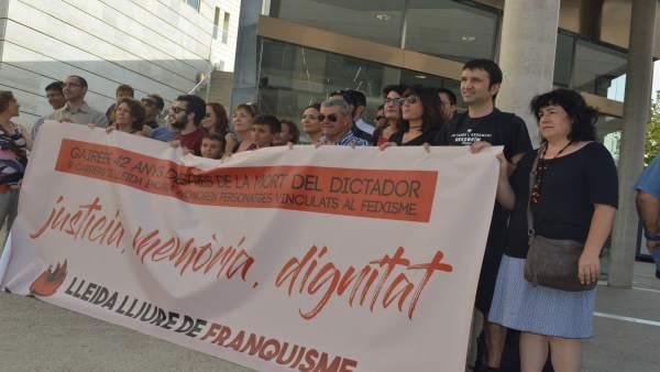 Plataforma Lleida lliure de franquismo