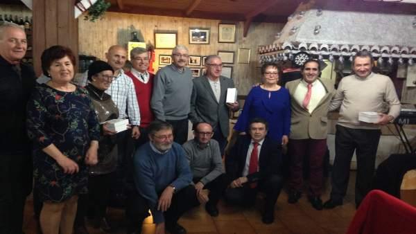 Homenaje a personal jubilado de Correos en Granada