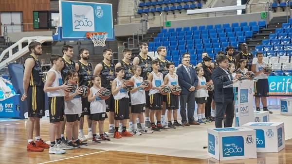 Nota De Prensa Y Fotografías: Baloncesto Tenerif 2030 Iberostar Tenerife