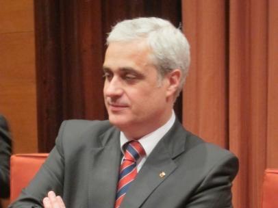 El exconseller de Justicia de la Generalitat, Germà Gordó.