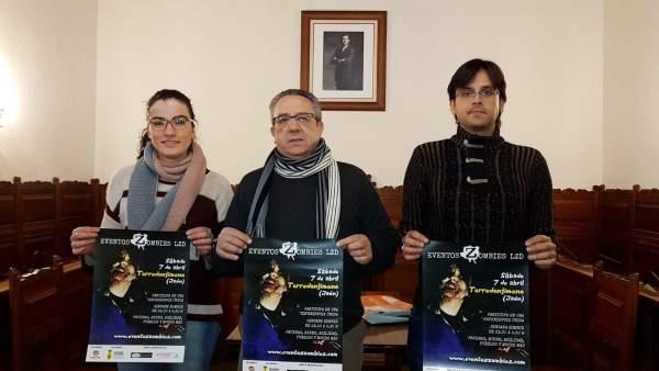 Presentación de la segunda edición del 'Last Zombi Day' de Torredonjimeno.