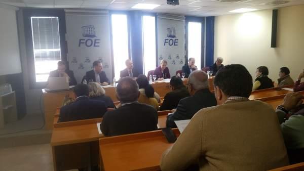 Junta directiva de la FOE.