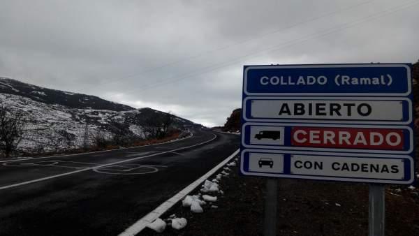 La Diputación mantiene abiertas las carreteras provinciales ante el temporal.