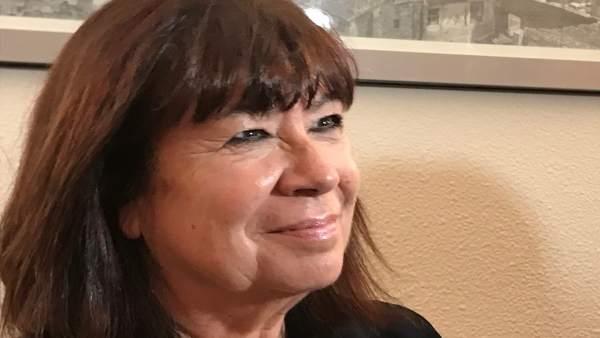 La nueva presidenta del PSOE, Cristina Narbona.