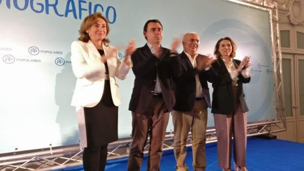 Maillo en Logroño con Ceniceros, Martín y Gamarra