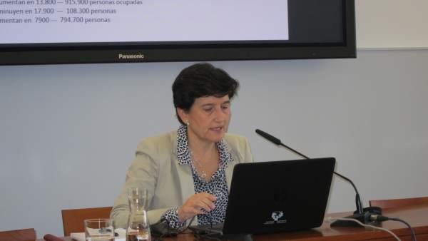 La profesora de la UPV/EHU Sara de la Rica