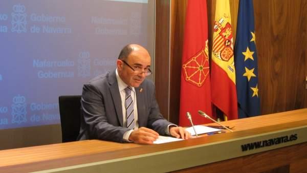 Manu Ayerdi, vicepresidente de Desarrollo Económico del Gobierno de Navarra