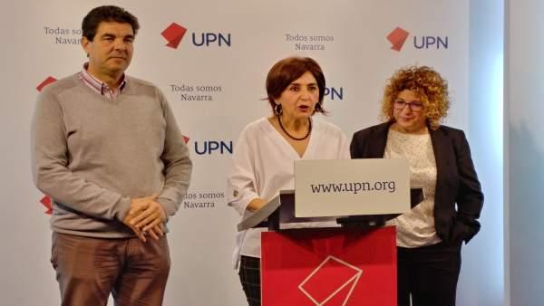UPN reclama la paralización de la reforma del mapa local