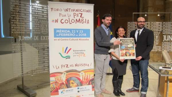 Presentación Del Foro Internacional Por La Paz En Colombia