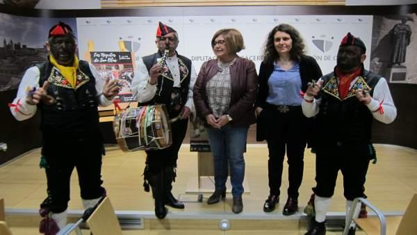 Presentación de Los Negritos de Montehermoso