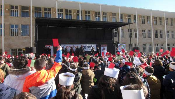 Imagen Del Acto Del Día De La Paz