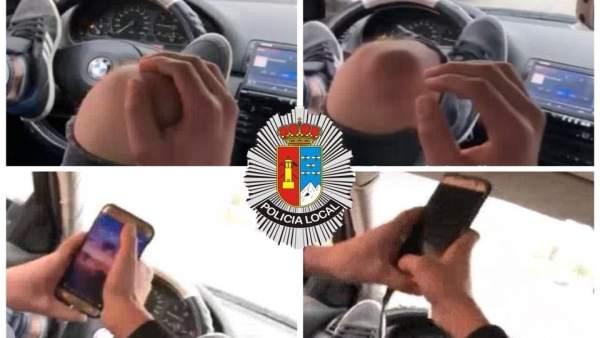 Imagen capturada del perfil de Policía Local de La Unión