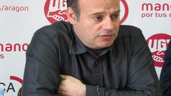 José Juan Arceiz, miembro de UGT en Opel España