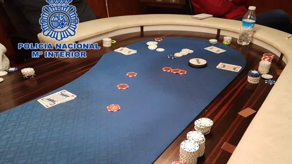 Imagen de uno de los tableros de juego intervenidos