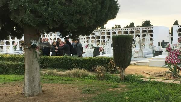 Visita al espacio de Pico Reja, en el cementerio de San Fernando