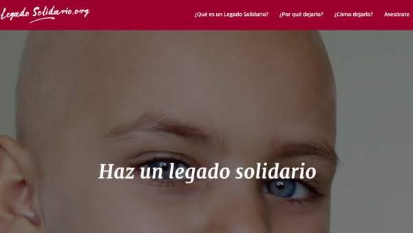 Web legadosolidario.org