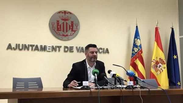 El concejal Carlos Galiana presenta los resultados del Barómetre Municipal