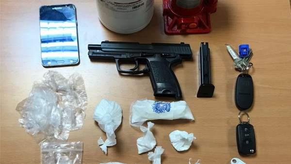 Desarticulación de un punto de cocaína en Palma